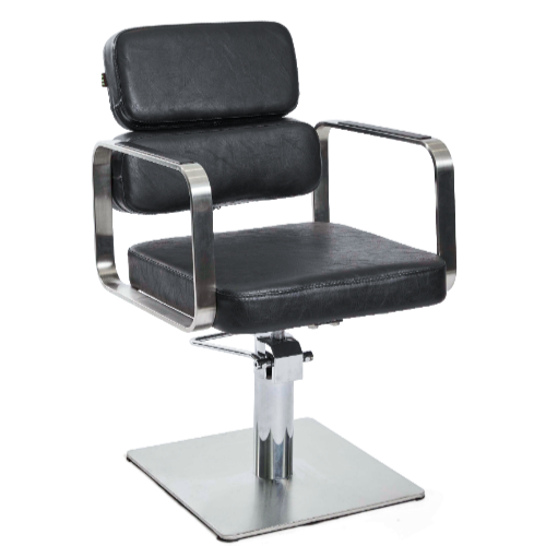 Black Academy Salon Styling Chair by Premier