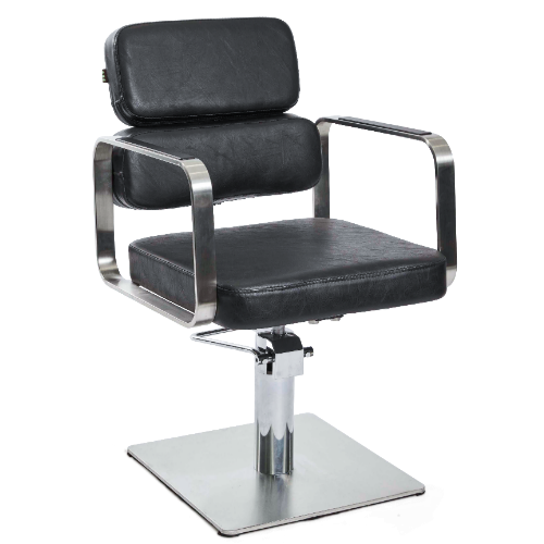 Black Academy Salon Styling Chair by SEC