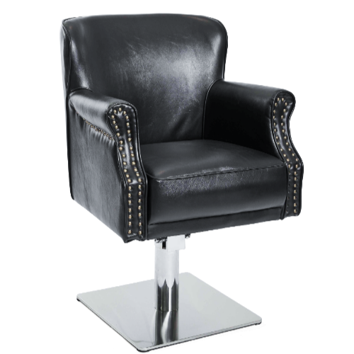 Black Comfort Salon Styling Chair by Premier