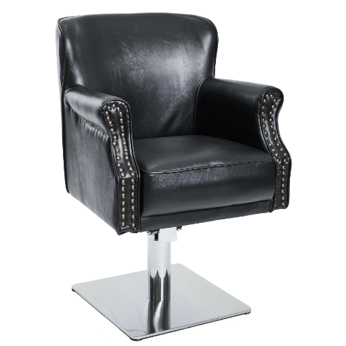Black Comfort Salon Styling Chair by SEC
