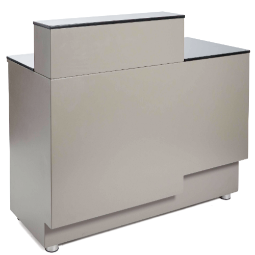 Warm Grey Canterbury Salon Reception Desk by SEC