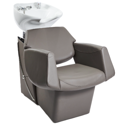 Grey Lunar Pod Salon Backwash Unit by Premier