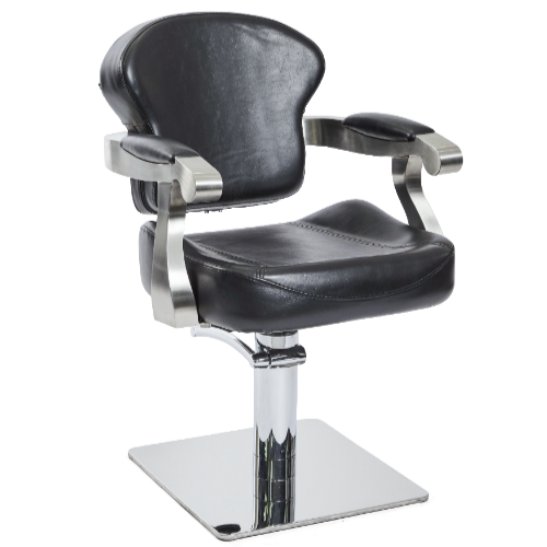Black Michigan Salon Styling Chair by SEC- Clearance
