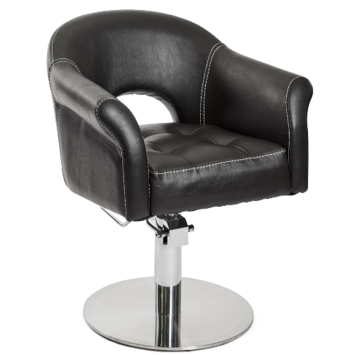 Black Phoenix Salon Styling Chair by Premier