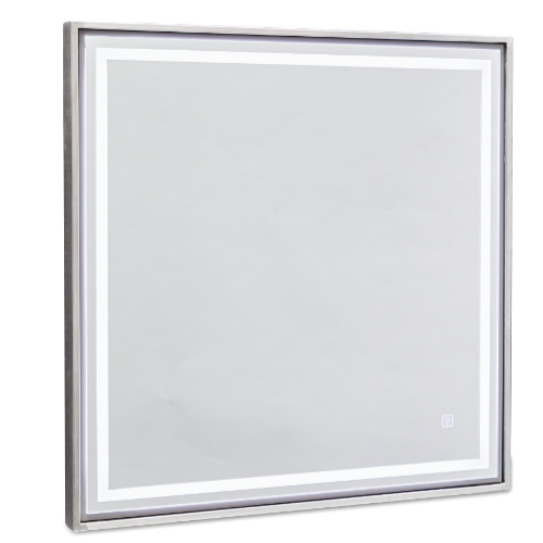 Platinum Square Salon Mirror by SEC
