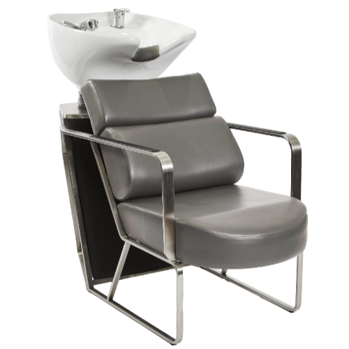 Dark Grey Platinum Salon Backwash Unit by Premier