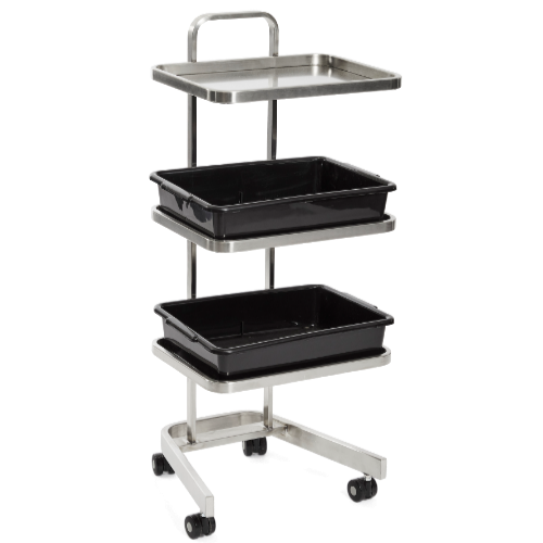 Platinum 3 Tier Salon Trolley by SEC