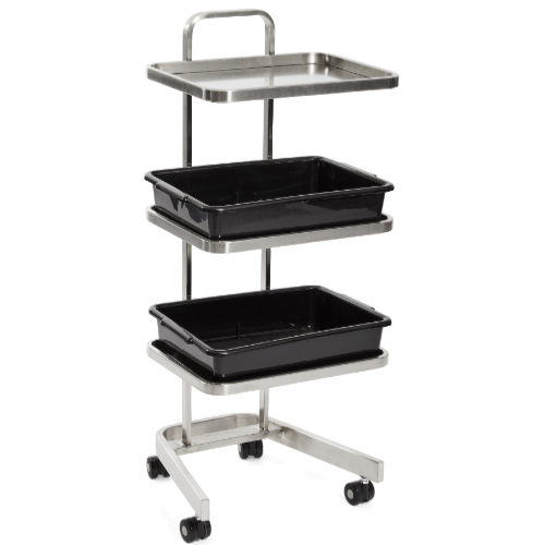 Platinum 3 Tier Salon Trolley by Premier