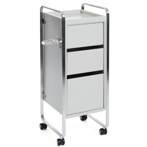 Light Grey Platinum Salon Trolley by SEC
