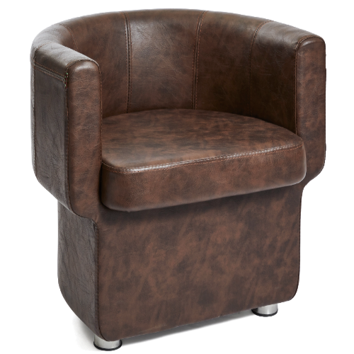 Brown Pod Salon Waiting Seat by Premier