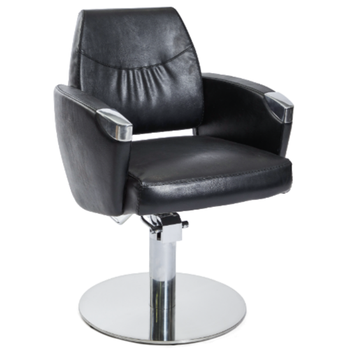 Black Romero Salon Styling Chair by SEC