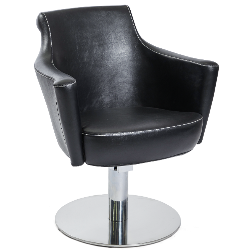 Black Sandhurst Salon Styling Chair by Premier