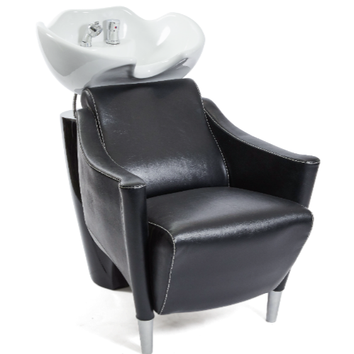 Black Sandhurst Salon Backwash Unit by Premier