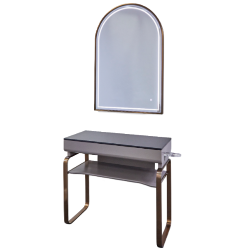 Copper Canterbury Arched Styling Unit By SEC