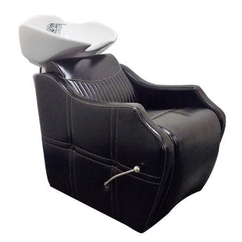 Black Phoenix Salon Backwash Unit by SEC - Clearance - No Leg Rest