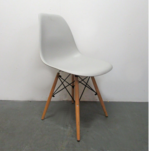Used Light Grey Salon Waiting Chair BF34M
