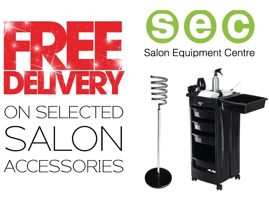 FREE DELIVERY on selected salon accessories