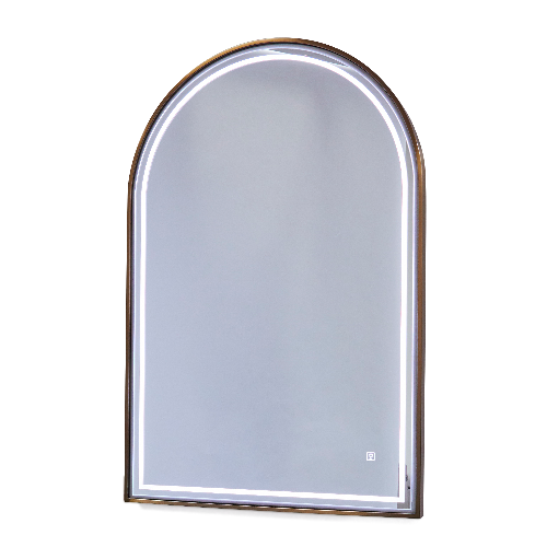 Copper Canterbury Arch Salon Mirror by SEC