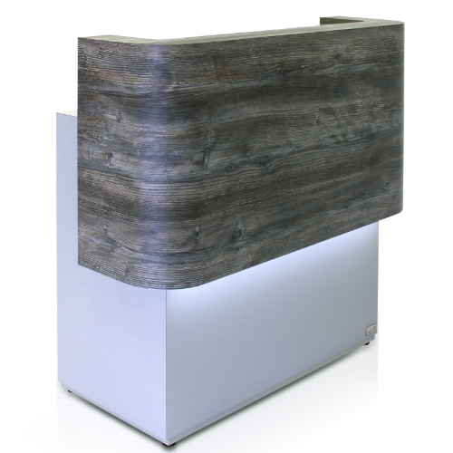 Lunar Salon Reception Desk by REM