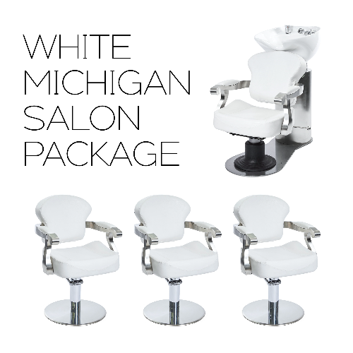 White Michigan Salon Package by SEC