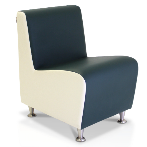 Elegance Straight Salon Waiting Seat by REM