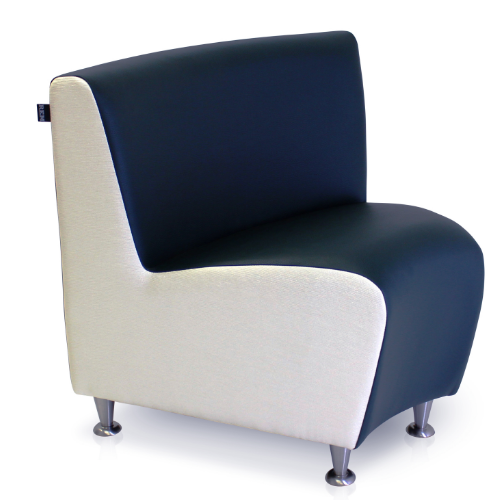 Elegance Corner Salon Waiting Seat by REM