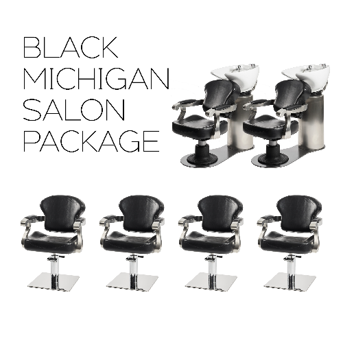 Black Michigan Salon Package by SEC