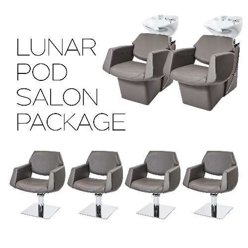 Dove Grey Lunar Pod Salon Package by SEC / PRE ORDER