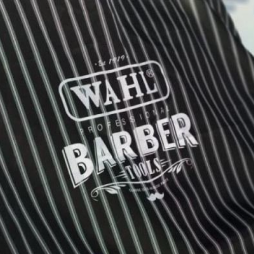 Pinstripe WAHL Barber Apron by BEC