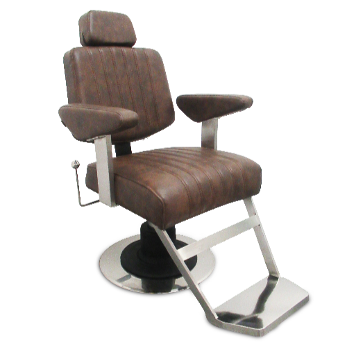 Brown Fusion Barber Chair by BEC