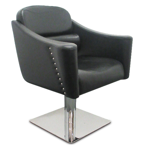 Black Chic Salon Styling Chair by SEC