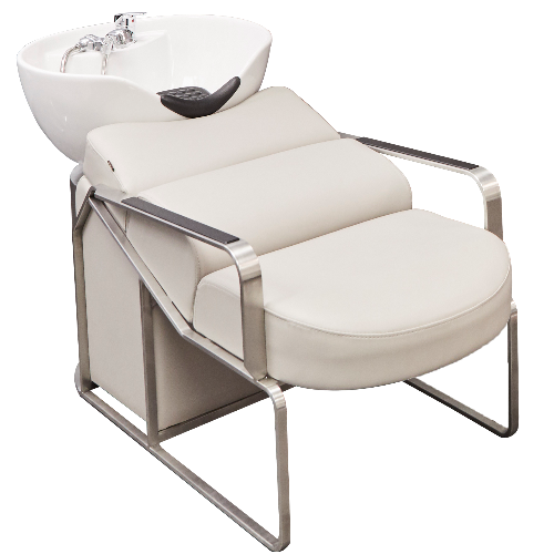 Light Grey Platinum Laydown Salon Backwash Unit by SEC - Due 12-16 Weeks