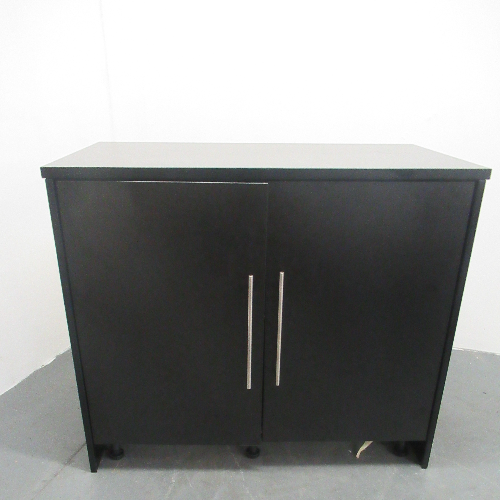 Used Black Salon Cabinet by REM - BF64E