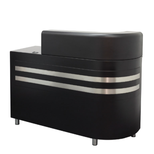 Black Highgrove Salon Reception Desk by SEC