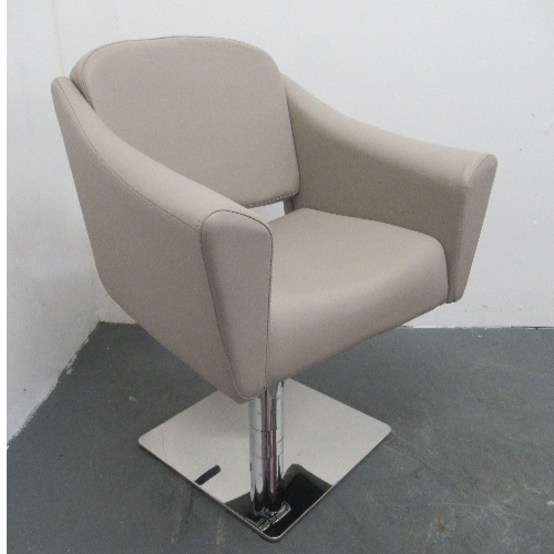 Light Grey Empress Salon Styling Chair by SEC