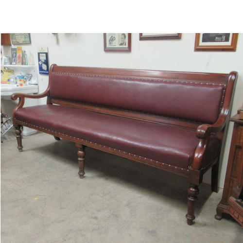 Vintage Long Waiting Bench VIN367T