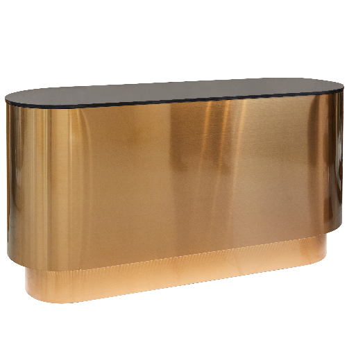 VIP Copper Sheet Reception Desk - DUE SEPTEMBER