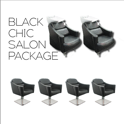 Black Chic Salon Package by SEC