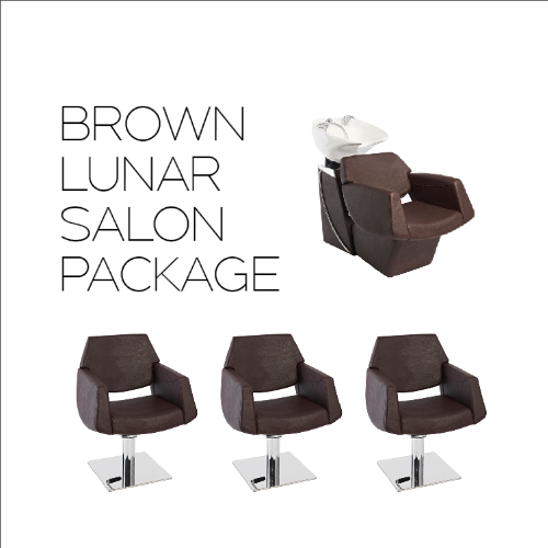 Lunar Pod Brown Salon Package by SEC