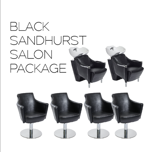 Sandhurst Black Salon Package by SEC