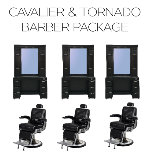 Cavalier & Tornado Barber Package by BEC