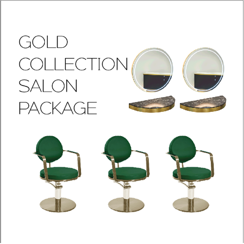Gold Collection Salon Package by SEC