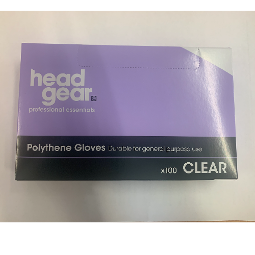Polythene Disposable Gloves - 100 Pack
