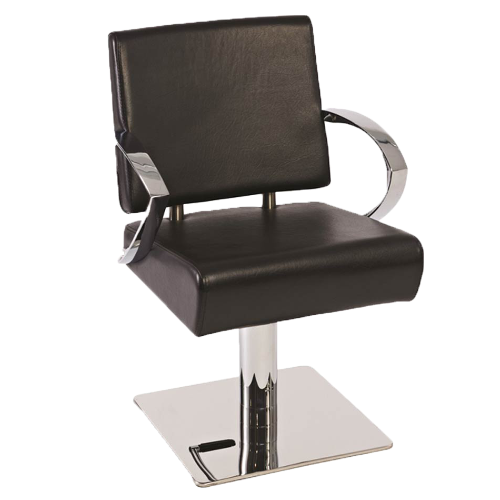 Black Atlantis Salon Styling Chair by SEC - Imperfect Stock