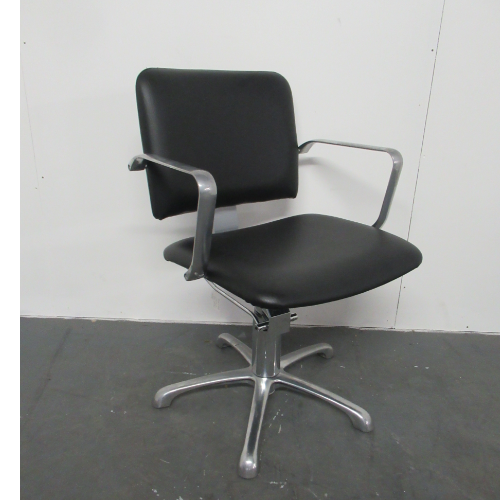 Used Black Salon Styling Chair BG75B