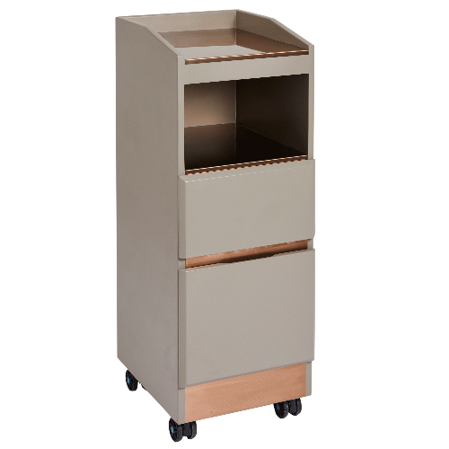 Copper Canterbury Salon Trolley by SEC