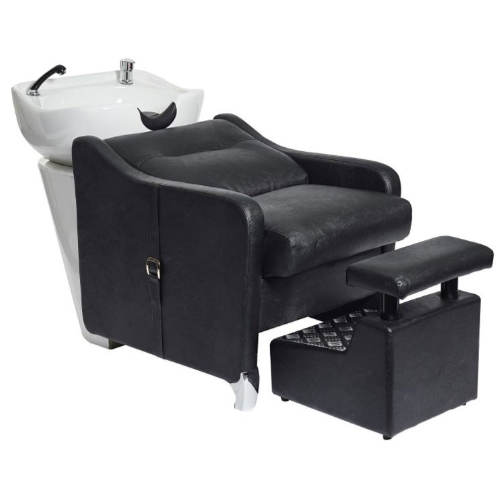 Black Louis Laydown Salon Backwash Unit by SEC