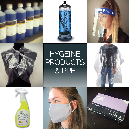 Barber Hygiene Products & PPE