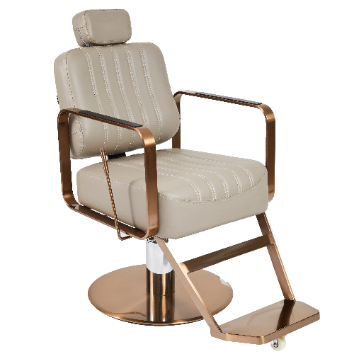 Copper Canterbury Barber Chair by BEC