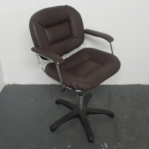 Used White Passion Salon Styling Chair
